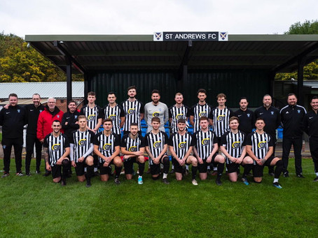 Recruitment company teams up with St Andrews Football Club