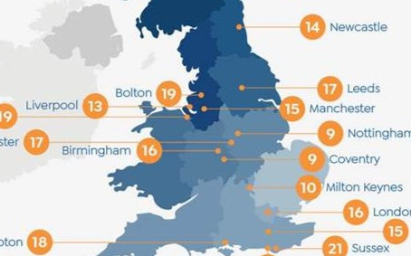 Leicester ranks in the top 50 UK cities to work if you want a pay rise