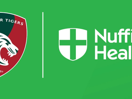 Nuffield Health supports Tigers' wellbeing
