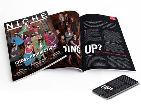 Work experience with Niche Magazine