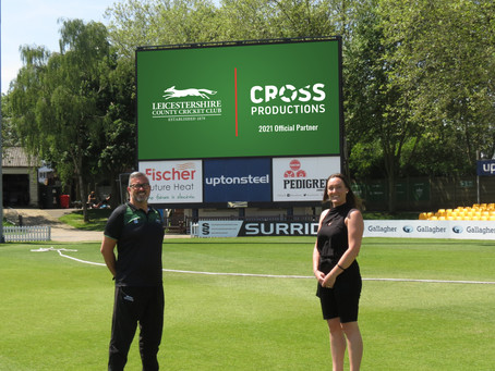 Media agency partners with Leicestershire County Cricket Club while rebranding is in full swing