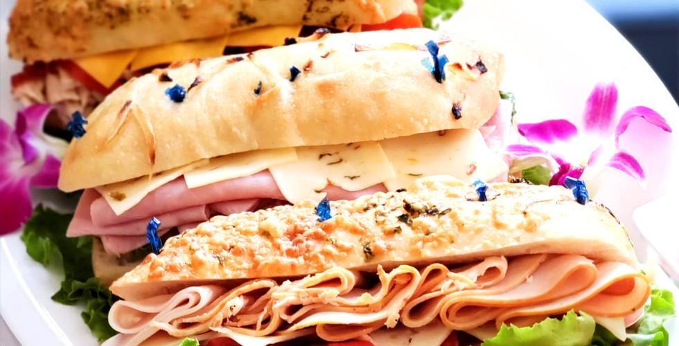 Sandwiches Hidden City Cater
