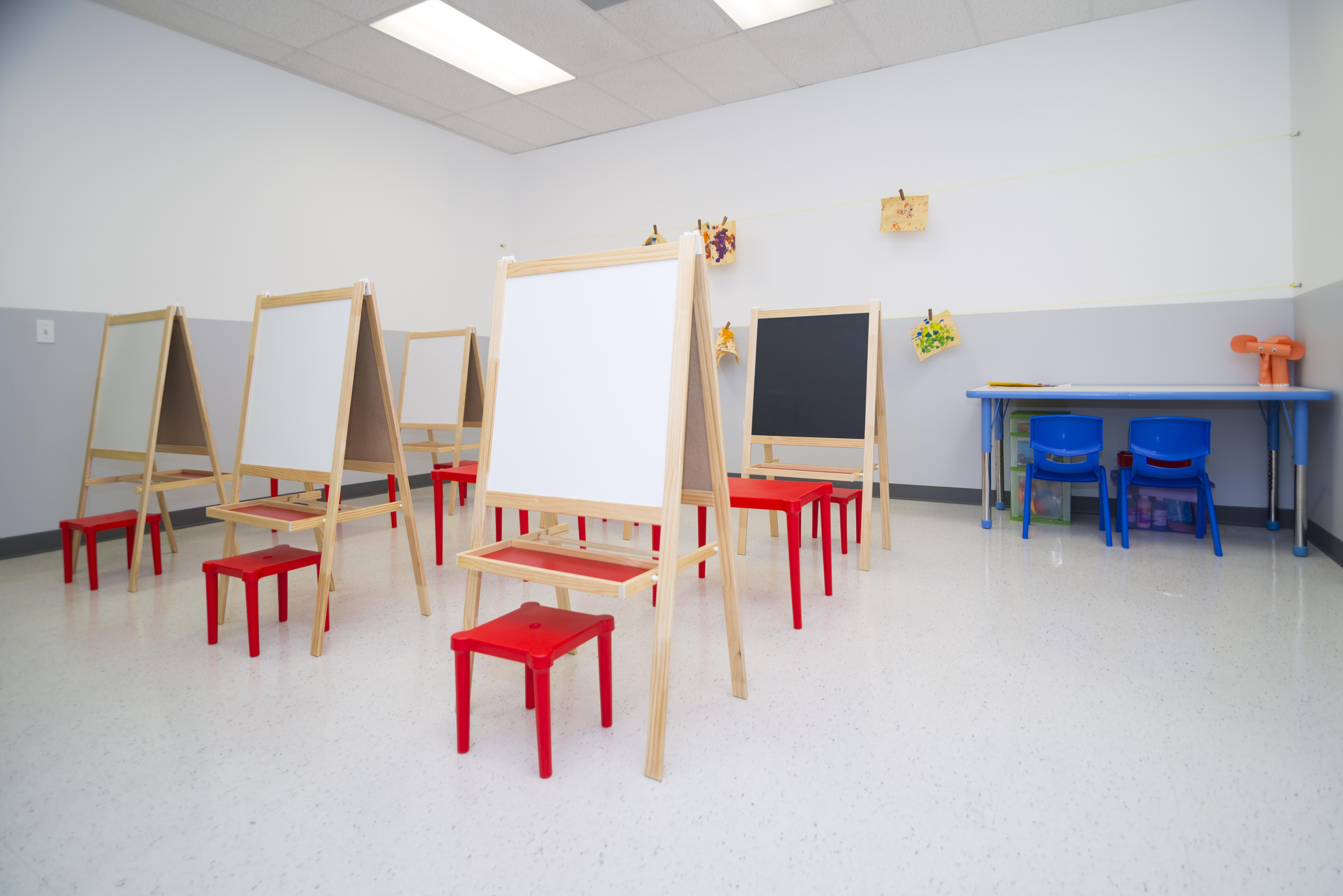 Kiddie City Art Room