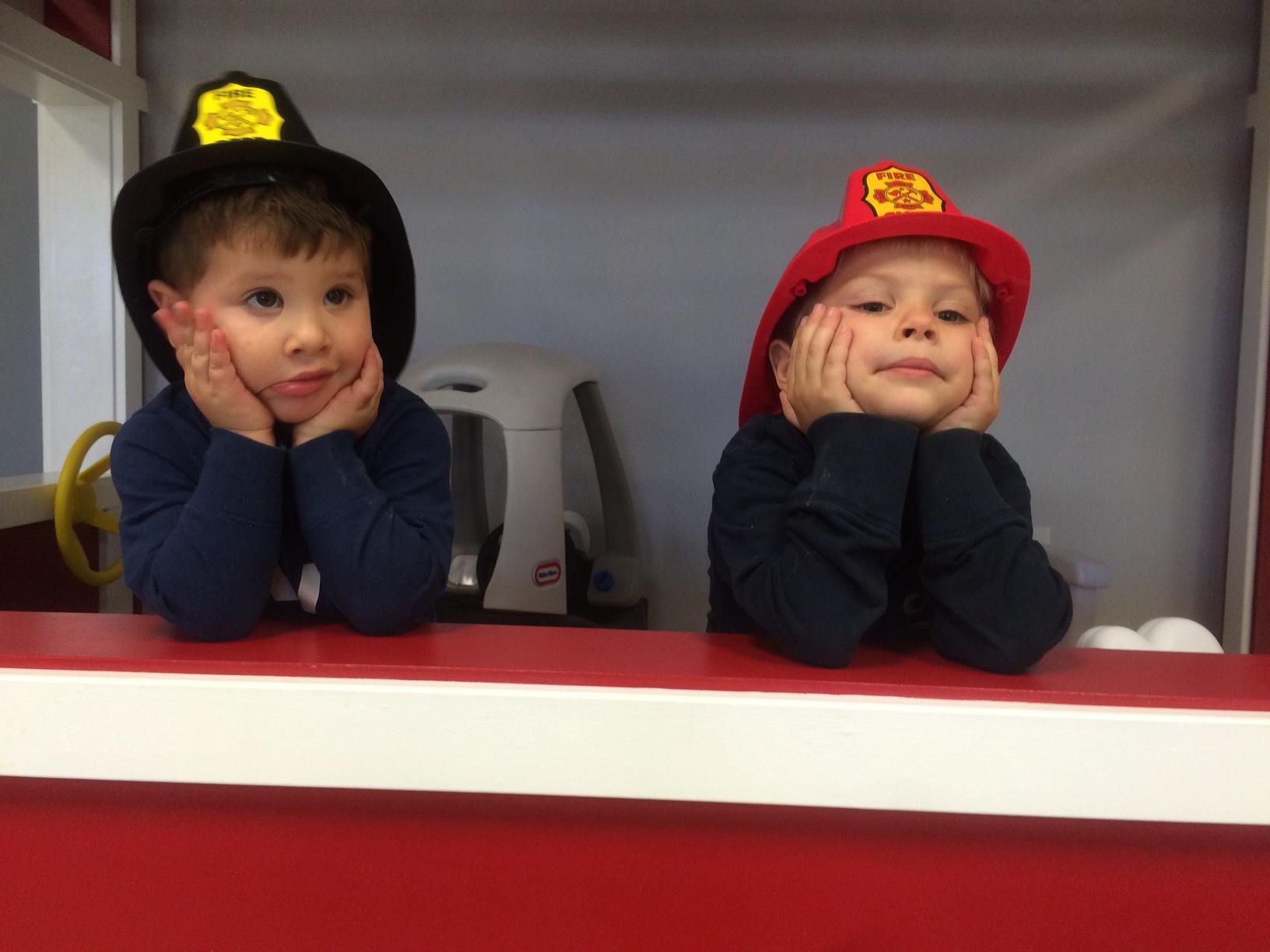 Kiddie City Fire Truck