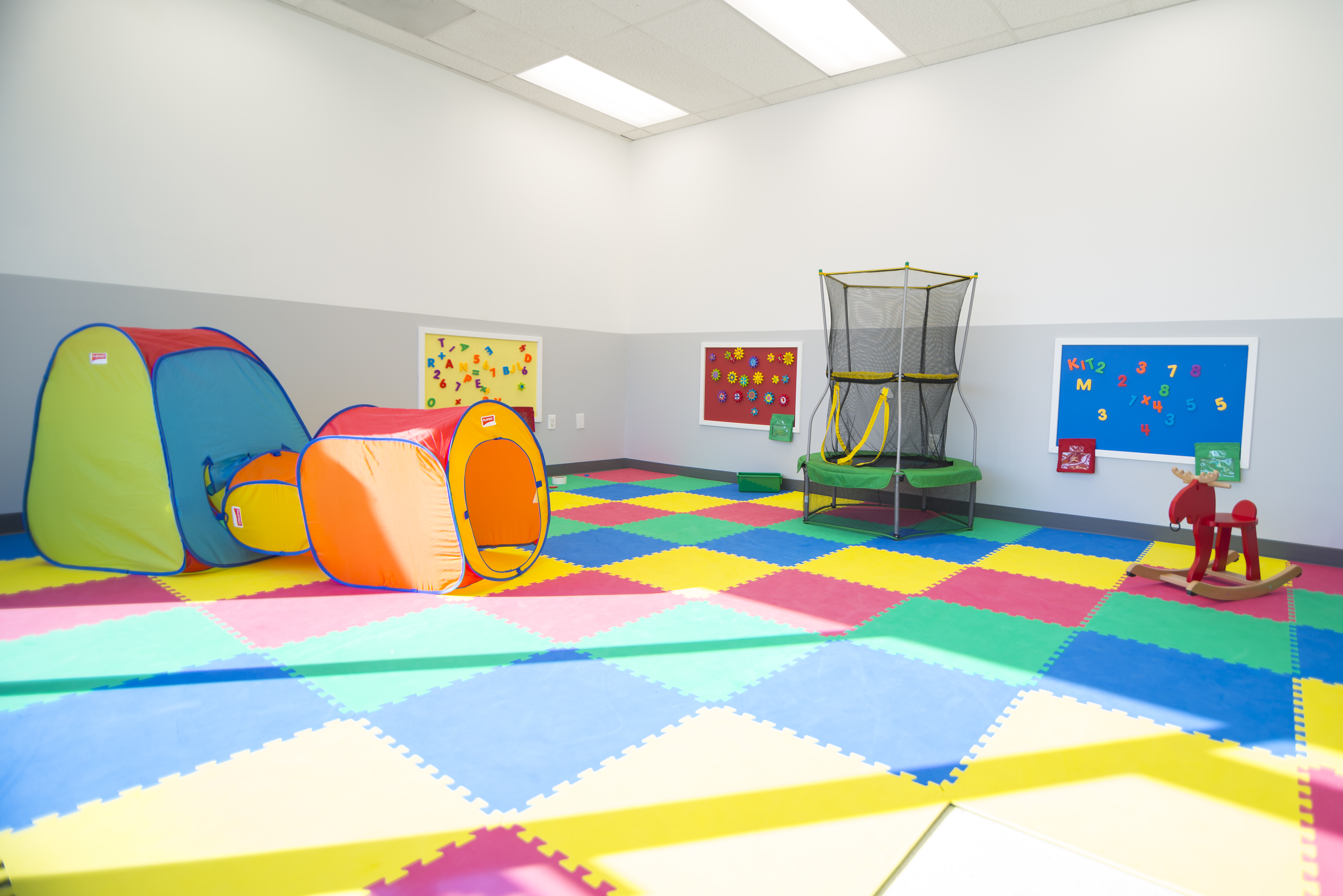 Kiddie City Matted Classroom