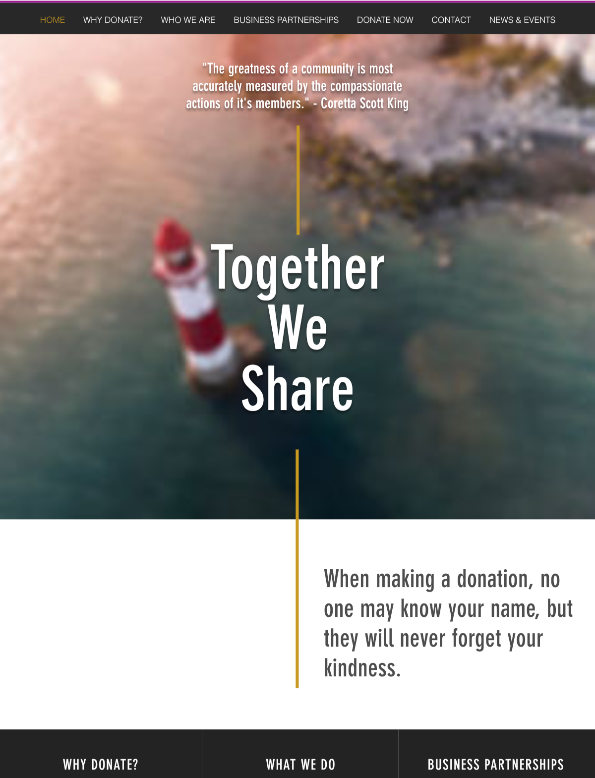 Together We Share Concept 1