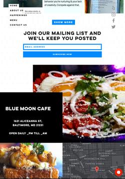 Unused Restaurant Concept
