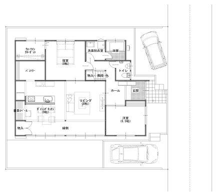 1階 平面図 白黒.jpg