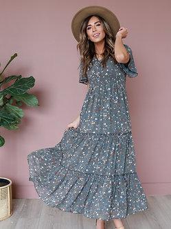 Eden Maxi Dress-Jasper Floral