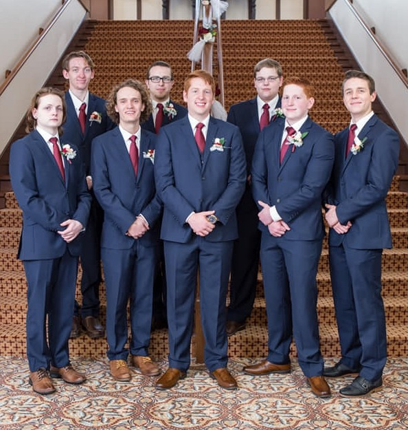Suits for the Groomsmen
