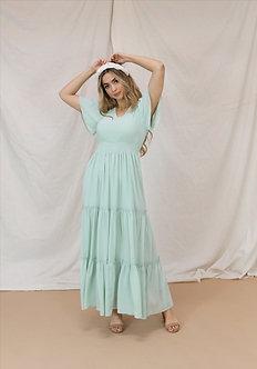 Eden Maxi Dress-Misty Jade
