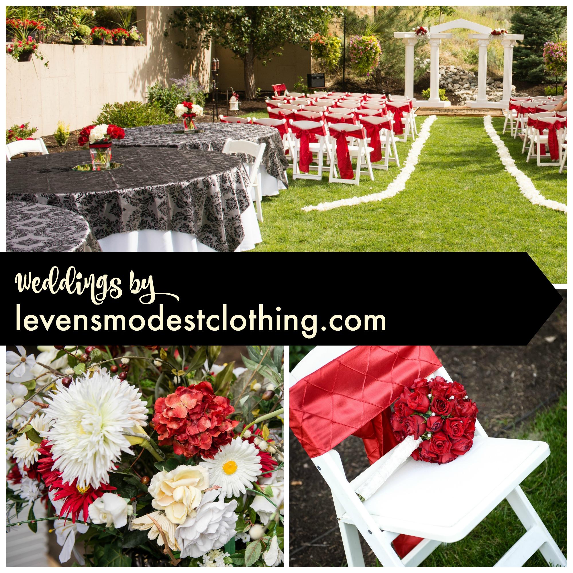 Wedding Decorating in Logan, Utah