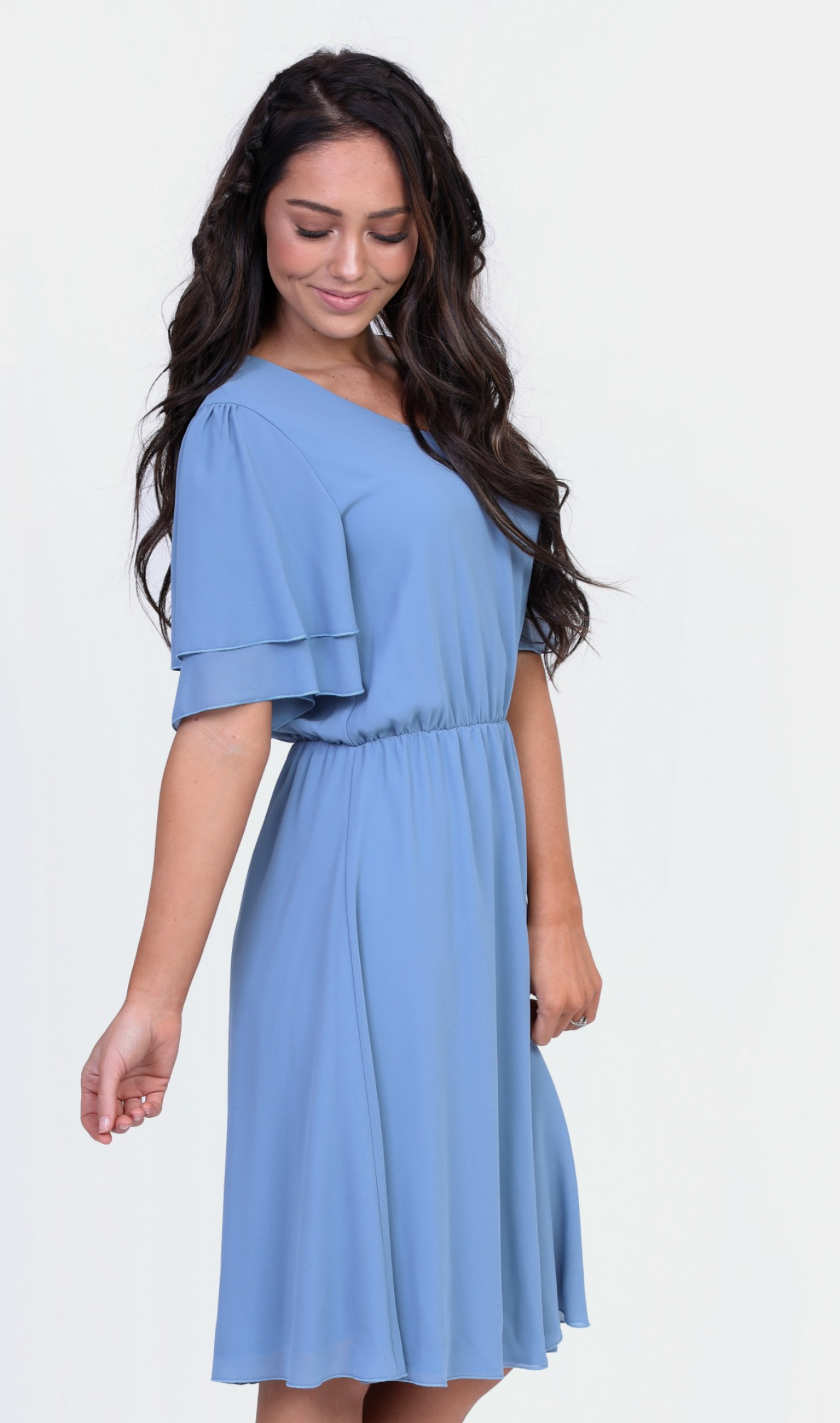 Claire Dress-Light Blue