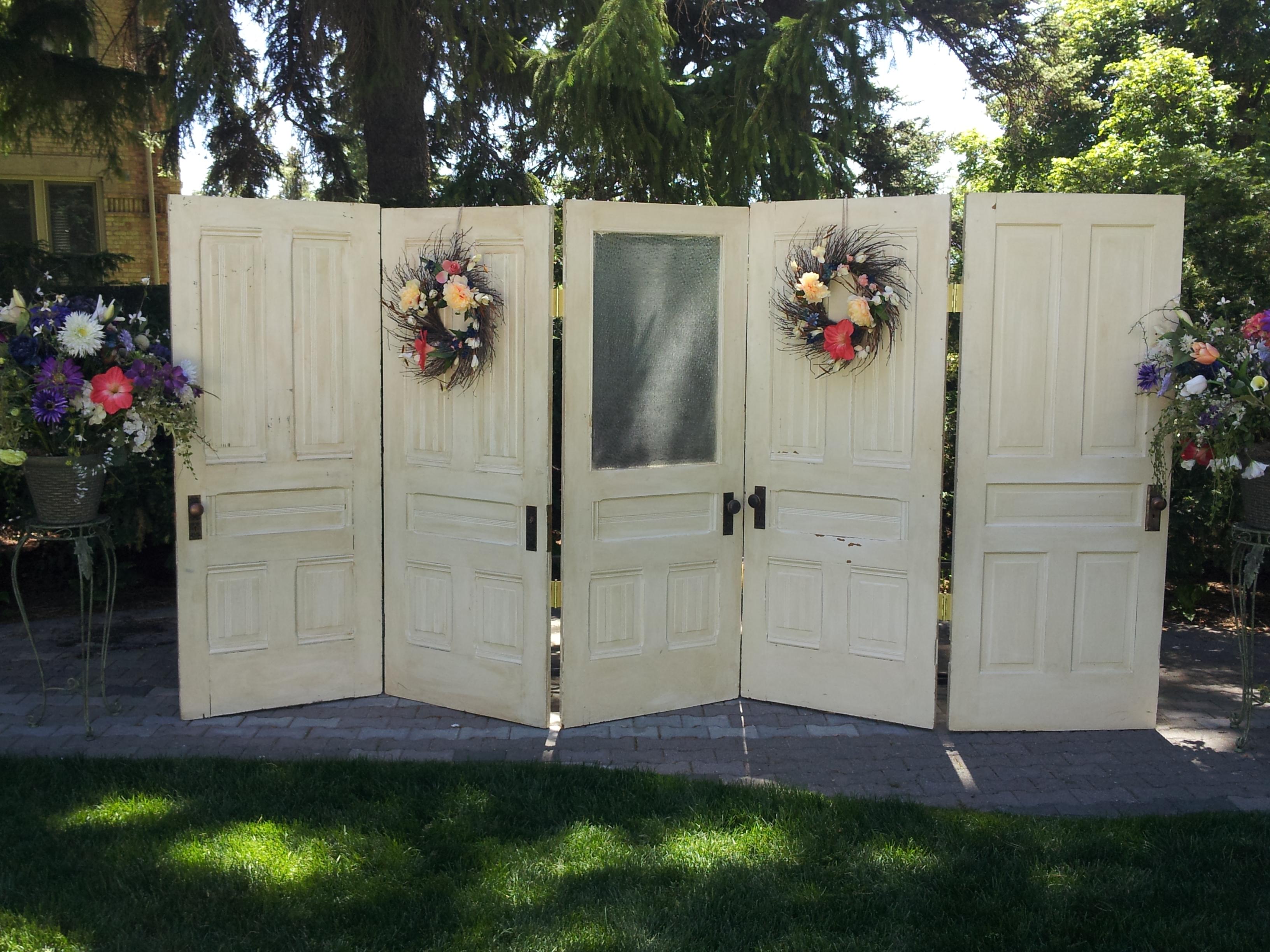 Vintage Doors Backdrop