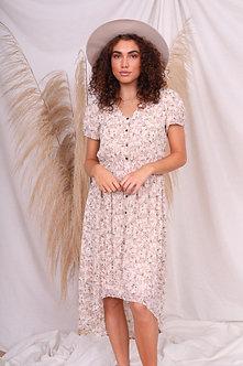Rowan Linen Bouquet Dress