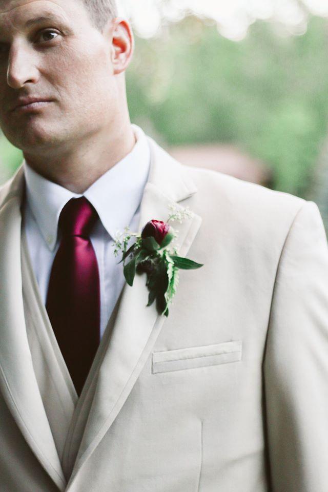 Tan Tuxedo