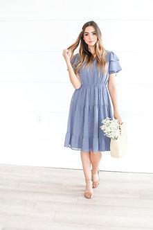 Mikarose Amy Dress-Cornflower Blue