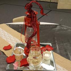Red Lantern Centerpieces