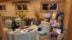 Rustic Gift Area.