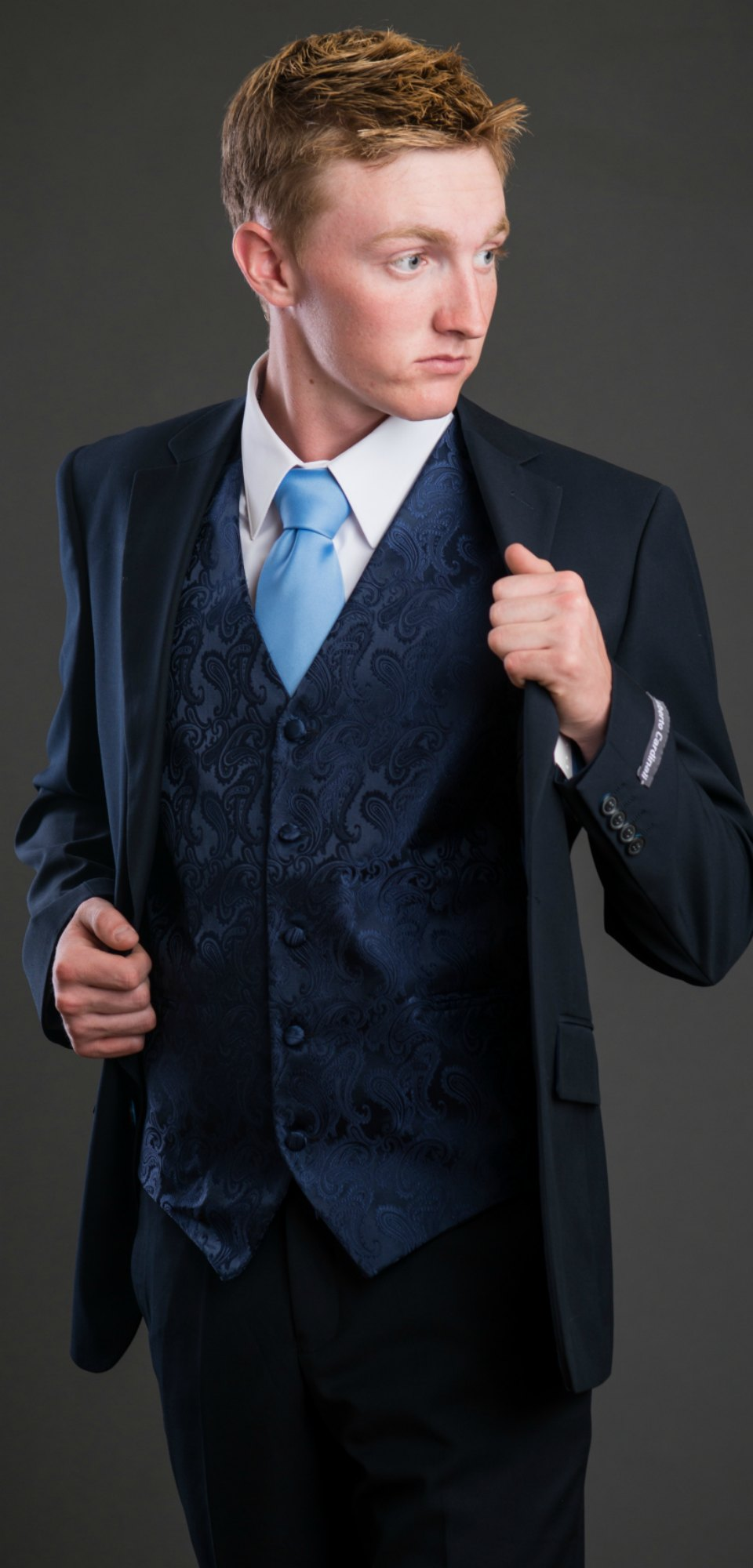 Men's Suits with a Twist