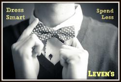 Bow ties make you look smart!