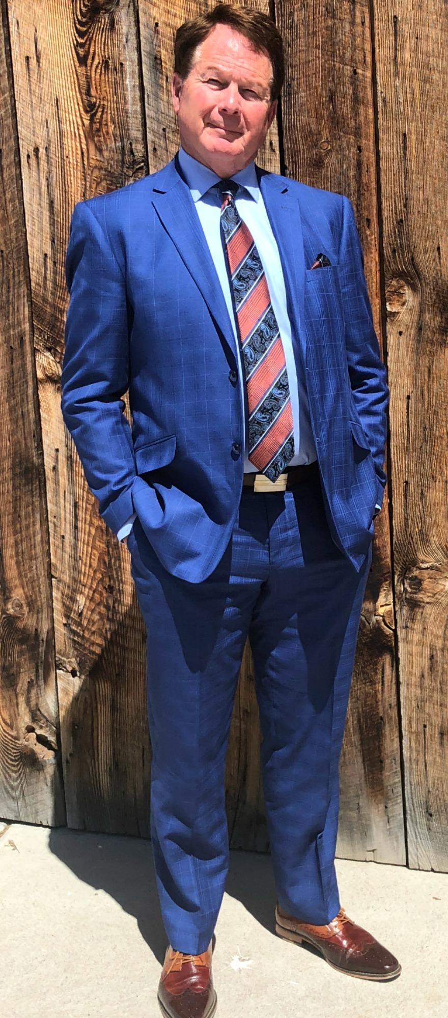 Blue Suits