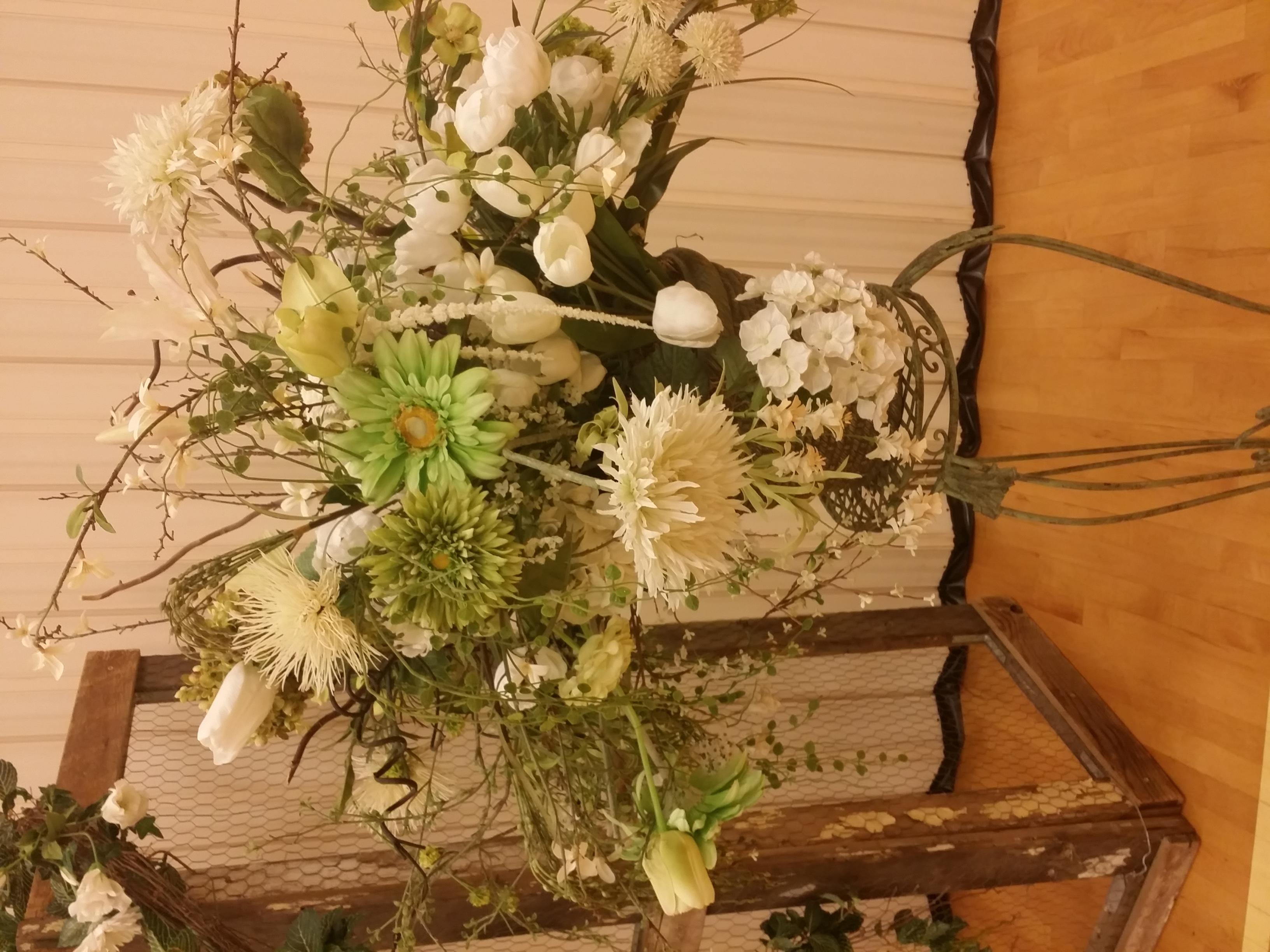 Custom Rustic Flower Arrangements.