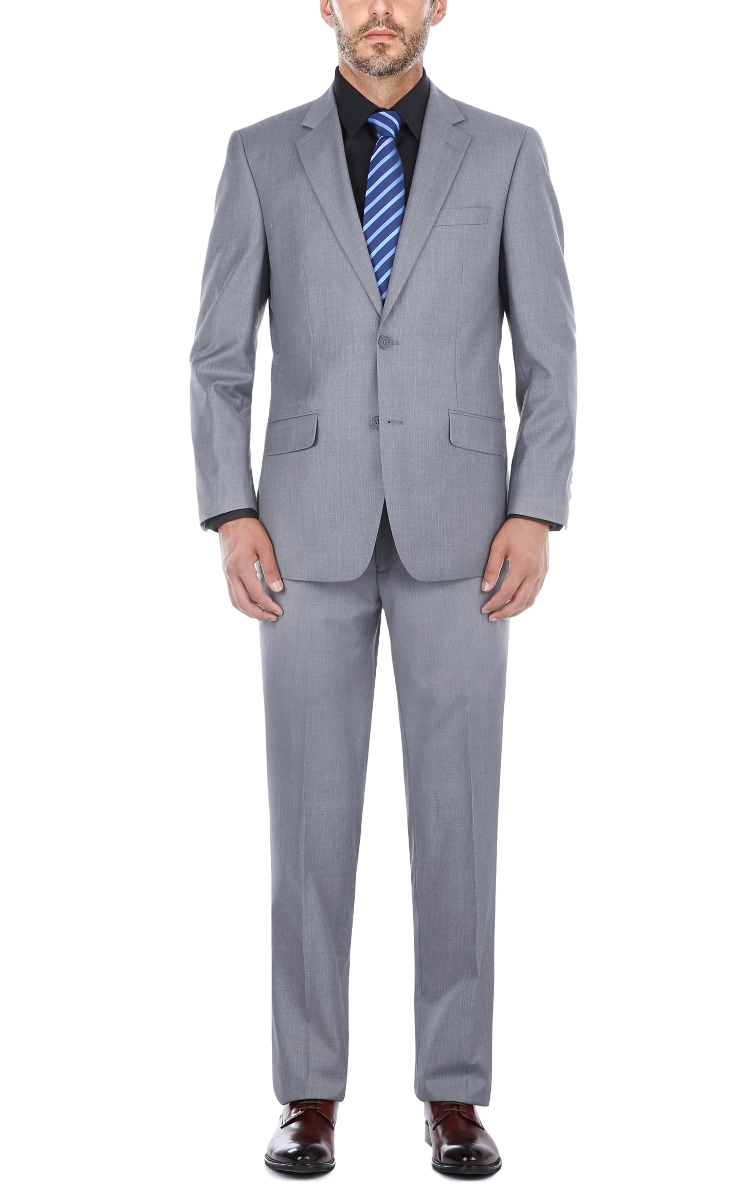 Men's Gray Suit