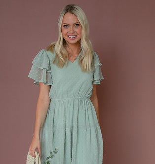 Mikarose Amy Dress-Sage