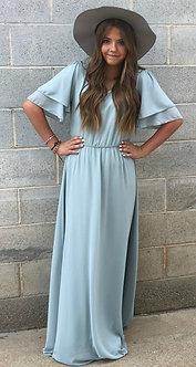 Mikarose Chloe Maxi Dress- Light Sage
