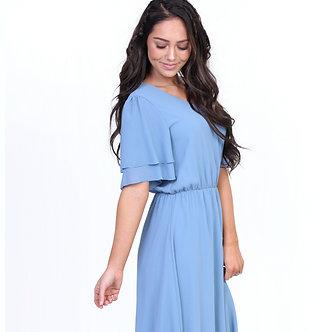 Claire Dress-Light Blue