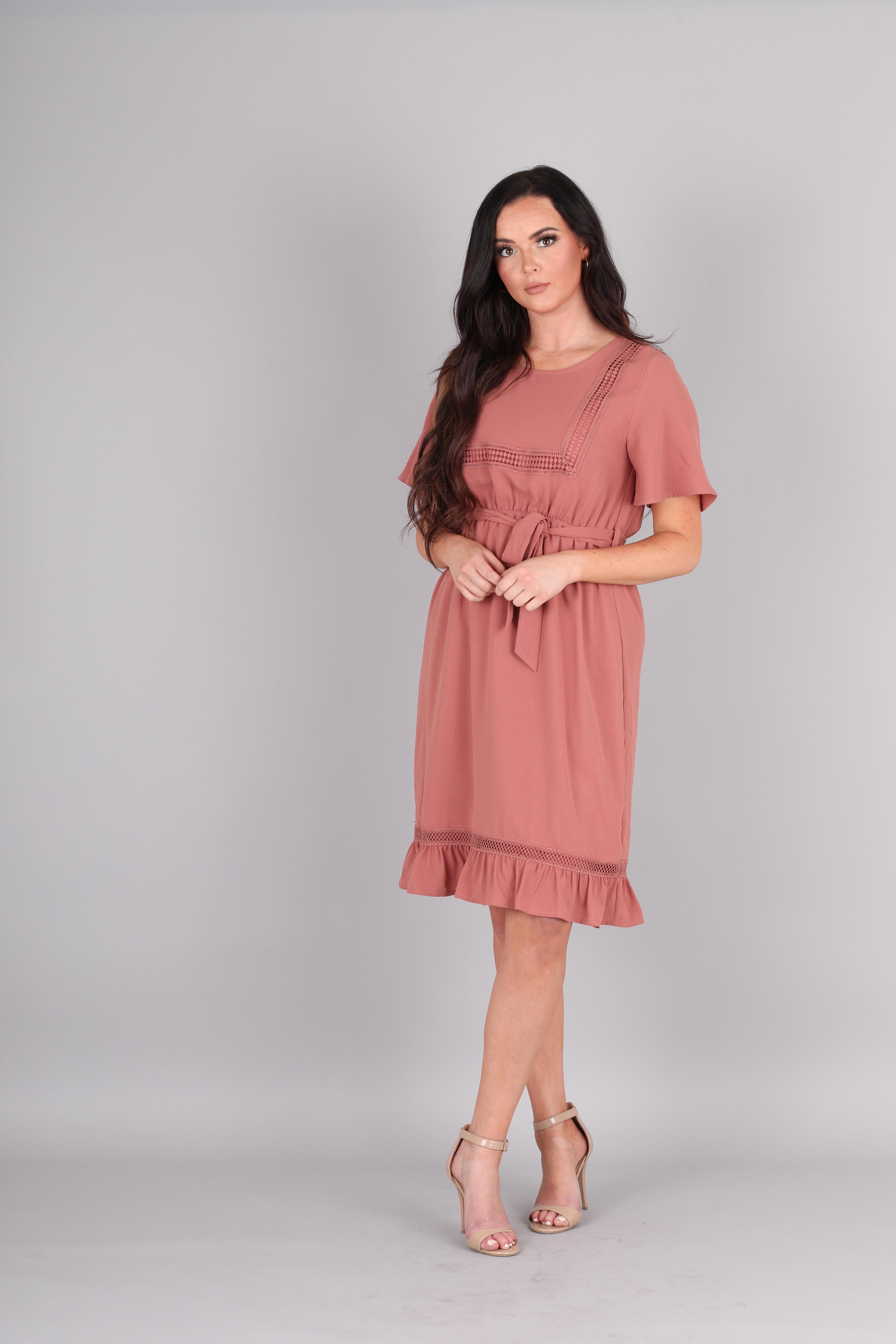 Mikarose Skyler Dress-Ash Rose