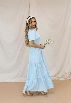 Eden Maxi Dress-Starlight Blue