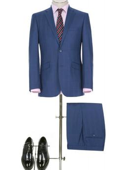 Bold Blue Suits