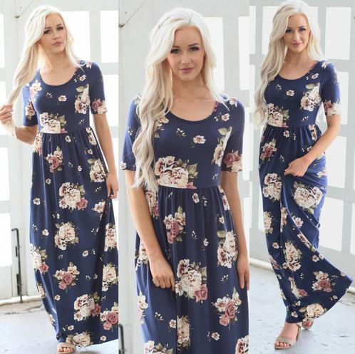 Miranda navy maxi dress fileg mightylinksfo