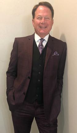 Beautiful Burgundy Suit