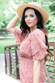 Mikarose Meadow Maxi Dress