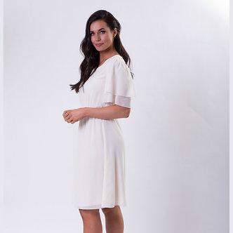 Claire Dress-Ivory