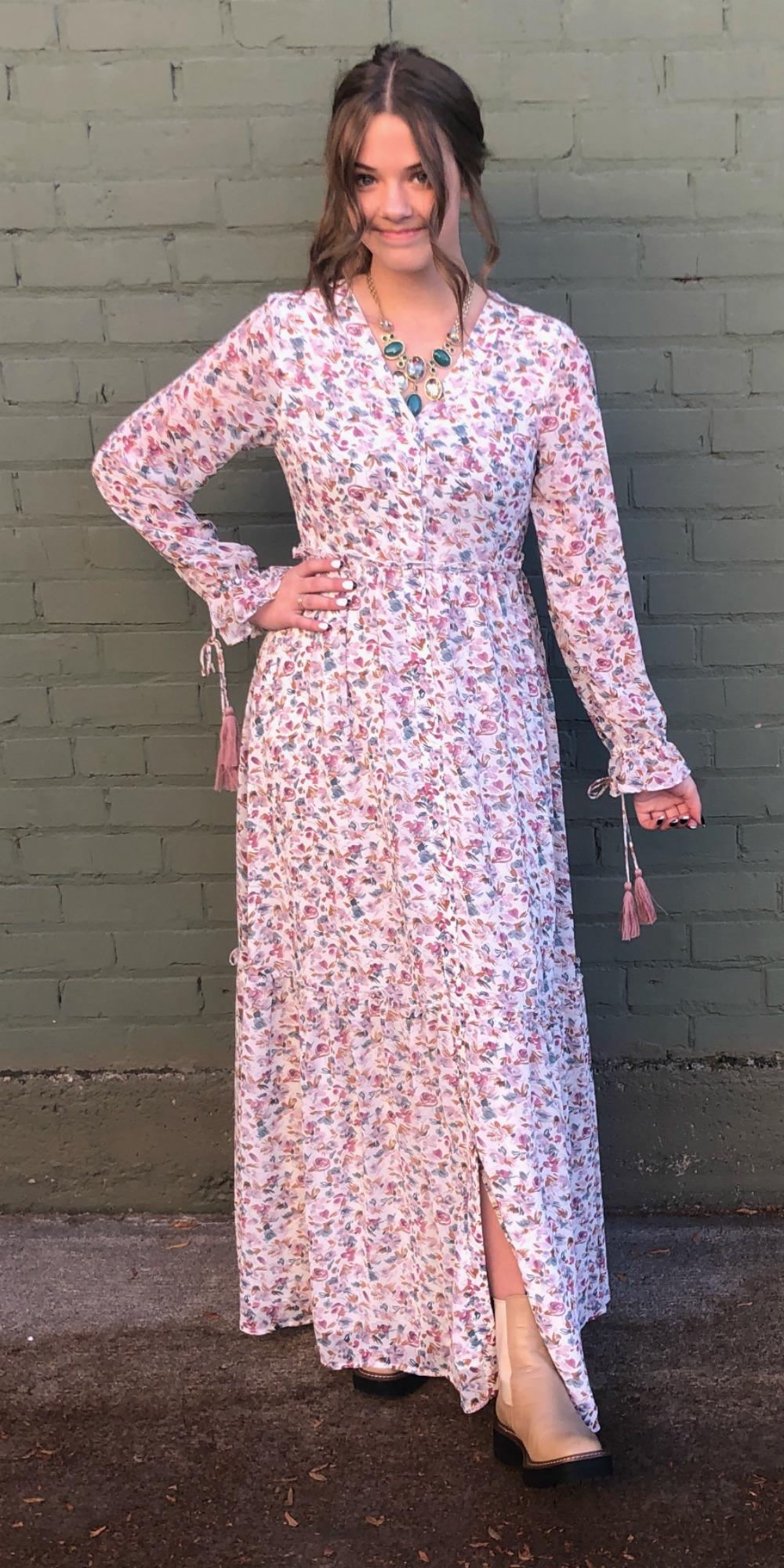 Luca Floral Maxi Dress