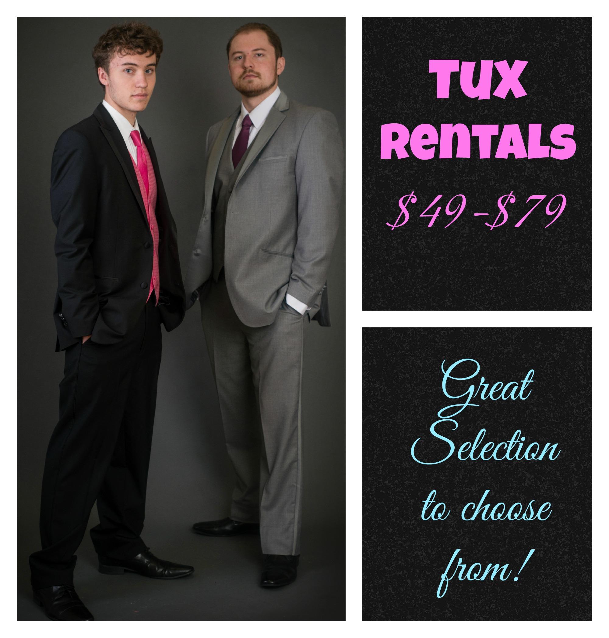 Tux Rentals