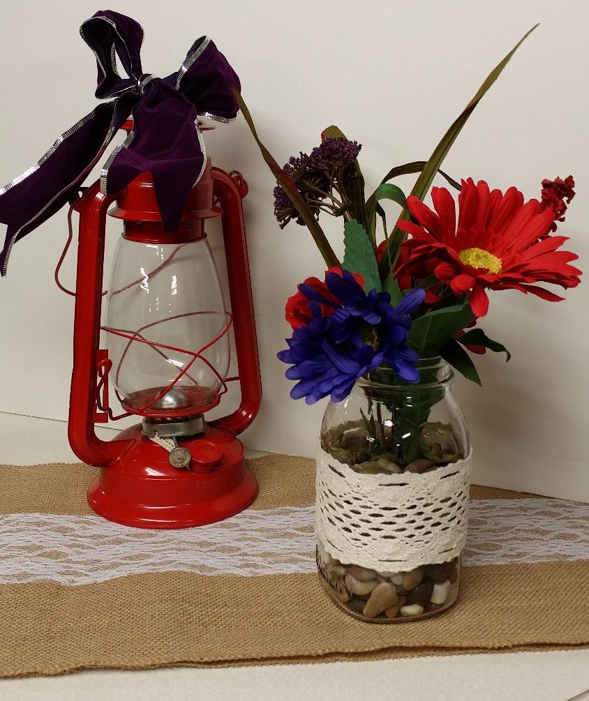 Lantern's & Mason Jars