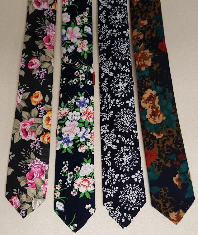 Fun Floral Ties