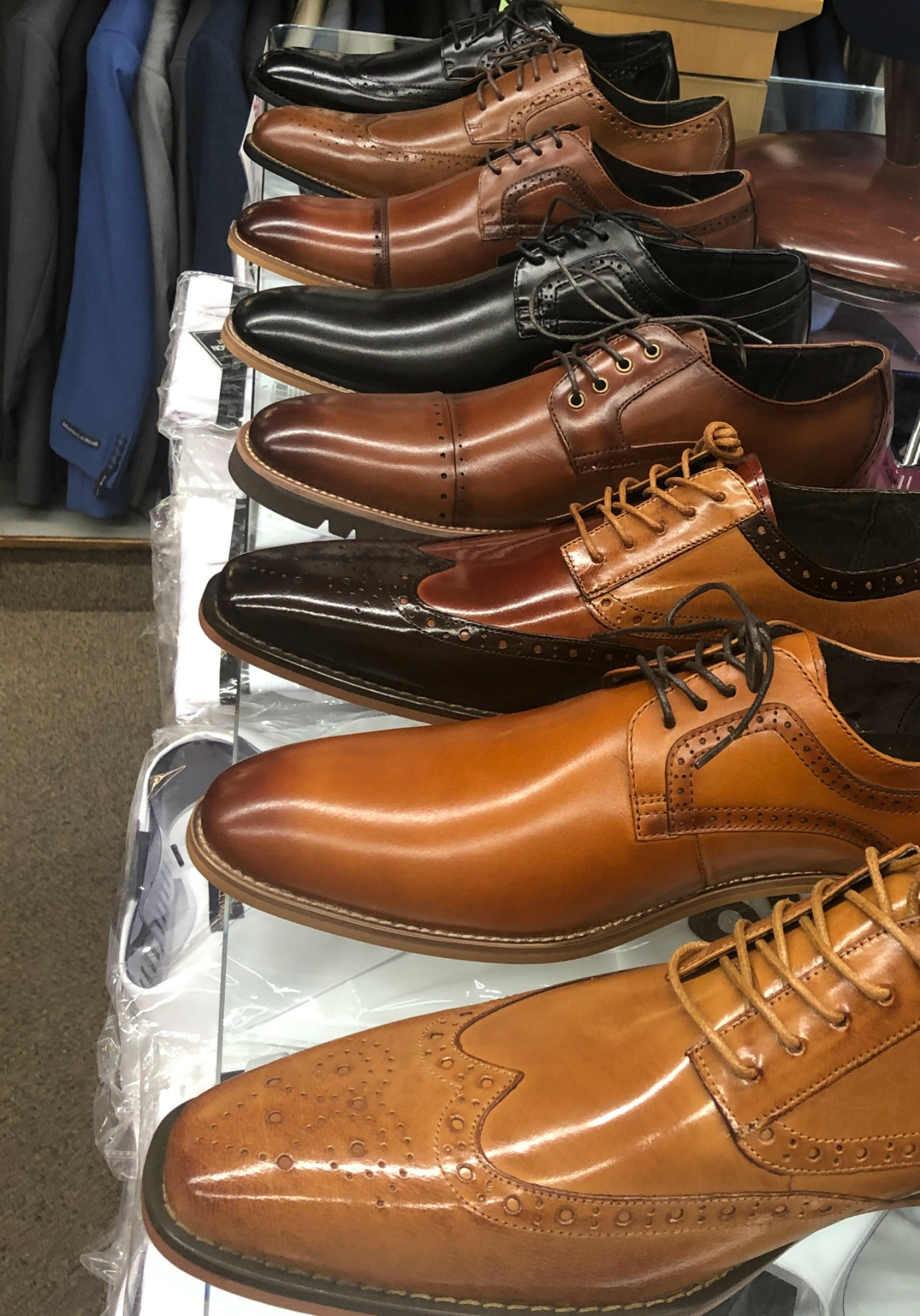 Shoes in all colors.