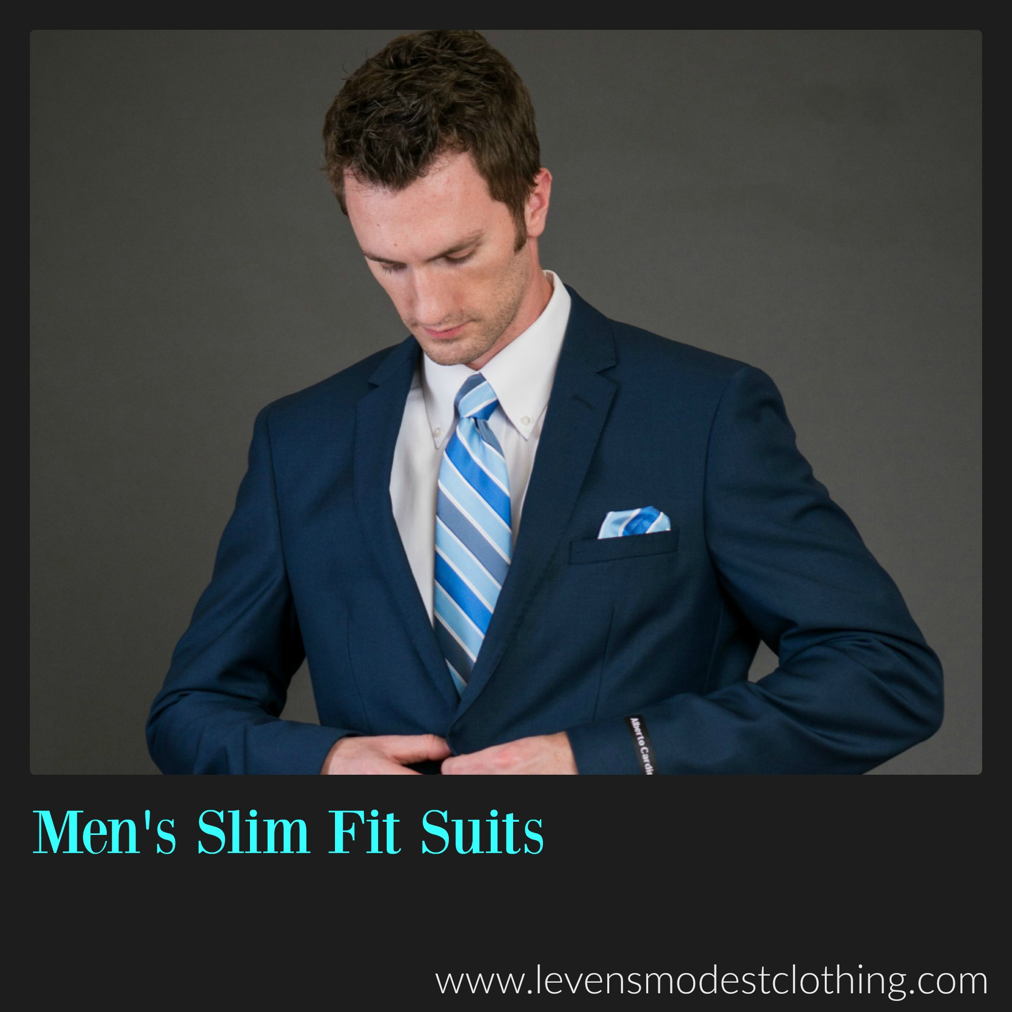 Slim Fit Suits.
