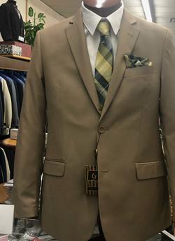Tan Men's Suit