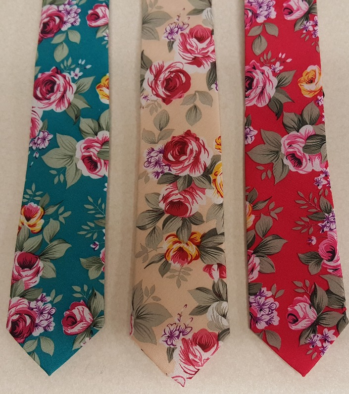 Fun Floral Men's Ties