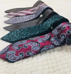 Neck Ties with Pocket Squares
