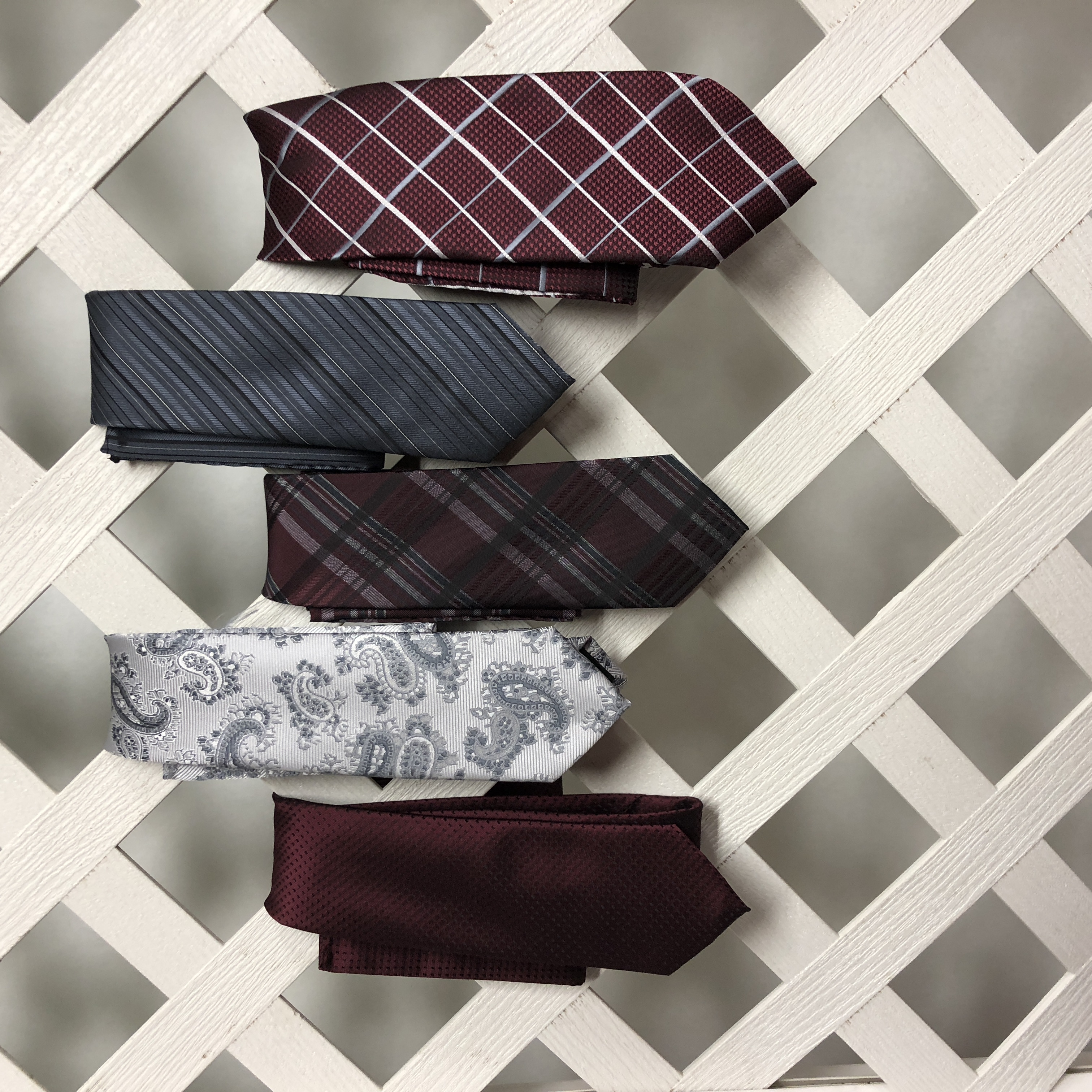 Men's Ties in many colors