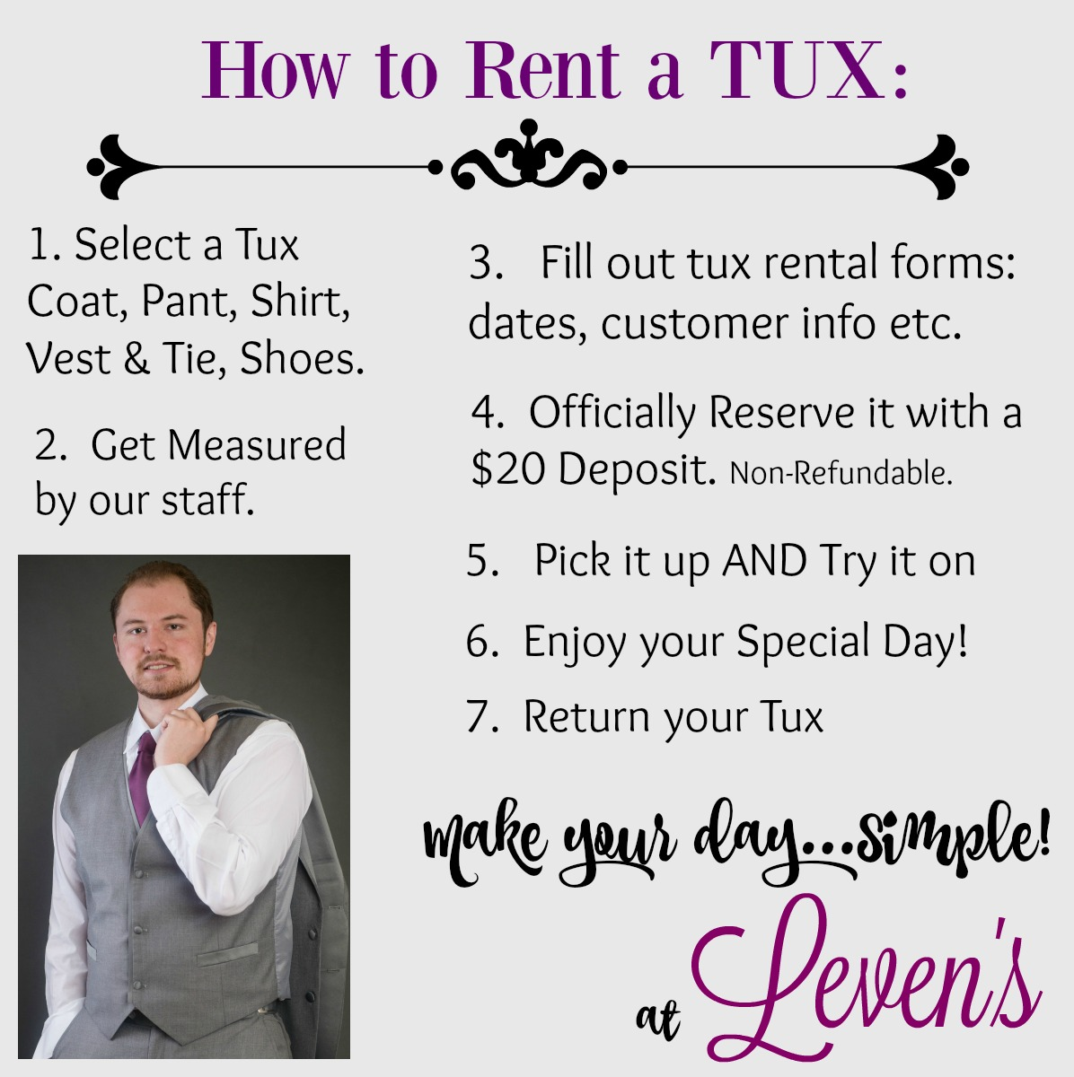 How to Rent a Tux.