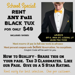 School Tux Special
